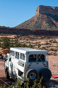 EarthCruiser at Tuweep North Rim Grand Canyon May 2014