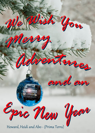 Best Wishes and Epic Travels to All