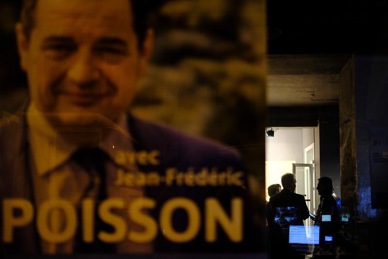 QG de Jean-Frédéric Poisson. Paris  -  1er tour -  20/11/16