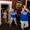 Excited supporters of Natalie Higgins arrive at the Luxury Box in Leominster after Higgins won the Democratic State Rep. race during the primary election on Thursday. SENTINEL & ENTERPRISE / Ashley Green