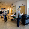 Voters cast their ballots at the MART station in downtown Fitchburg during the primary elections on Thursday. SENTINEL & ENTERPRISE / Ashley Green