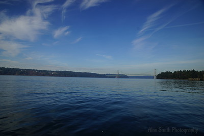 Puget Sound - The Narrows Bridge