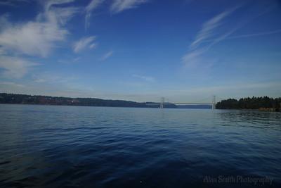 Puget Sound - The Narrows Bridge