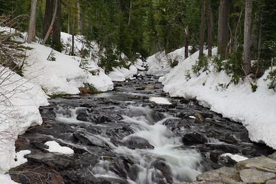 Winter Creek -Mt Rainer National Park