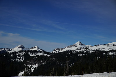 Moutains south of Mt Rainer