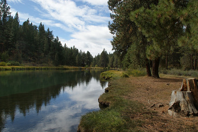 Deschutes River, Pringle Falls area, Oregon