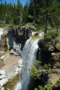 Paulina Falls - Newberry Crater National Monument Central Oregon - South of Bend Or and North of LaPine Or