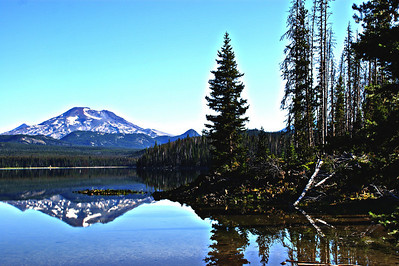 Mt Bachelor, Or Elk Lake