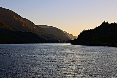 Evening on the Columbia Rvier