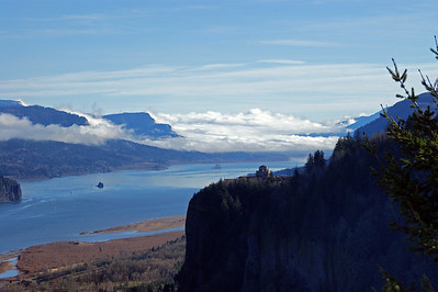 Taken from the Women Forum off of Scenic Hwy 30 looking toward the Vista House.  Columbia River
