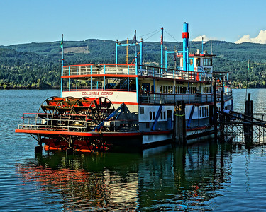 Evening Trip on the Columbia Gorge Sternwheeler