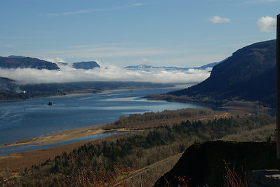 Columbia River looking east