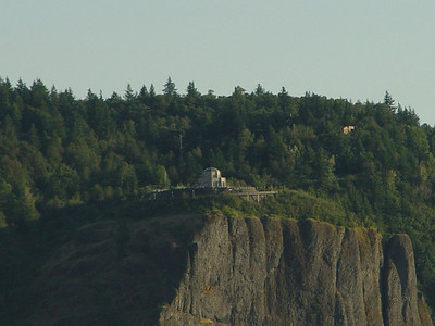 Vista House, Oregon Taken from Washington Hwy 14