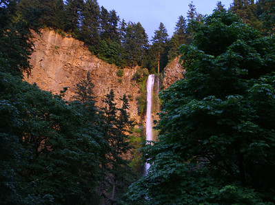 Multnomah Falls - about 8 pm...
