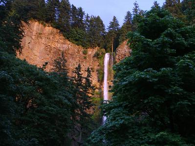 Multnomah Falls - about 8 pm...