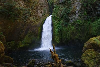 Wahclella Falls - Columbia Riv Gorge