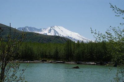Coldwater Lake, Mt St Helens