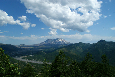 Mt St Helens - July 09