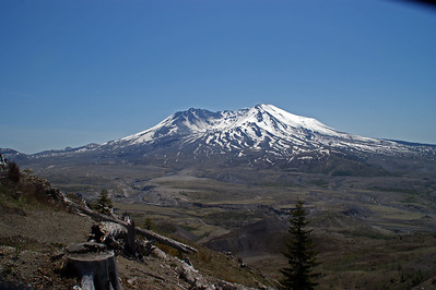 Mt St Helens - Long view