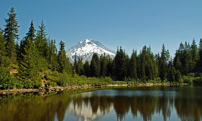 Mirror Lake with Mt Hood