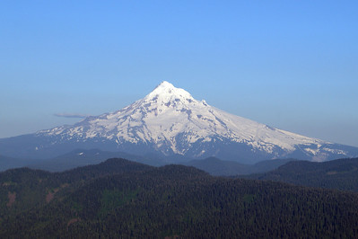 Mt Hood - from Larch Mt.