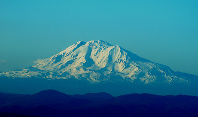 Mt Adams in Washington State....from Larch Mt