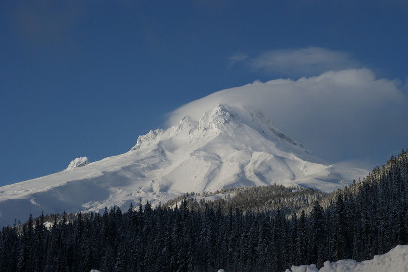 Mt Hood, Oregon<br /> View from White River Basin off of Hwy 35