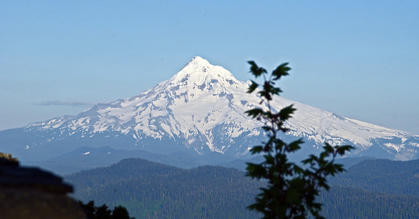 Mt Hood - from tail up to Larch Mt viewpoint