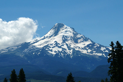 Mt Hood Oregon Taken off of Hwy 35 10 miles North of Hood River Oregon