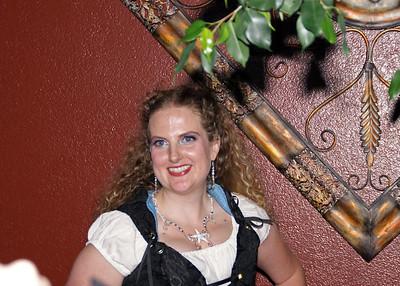 Bride in Pirate Dress4
