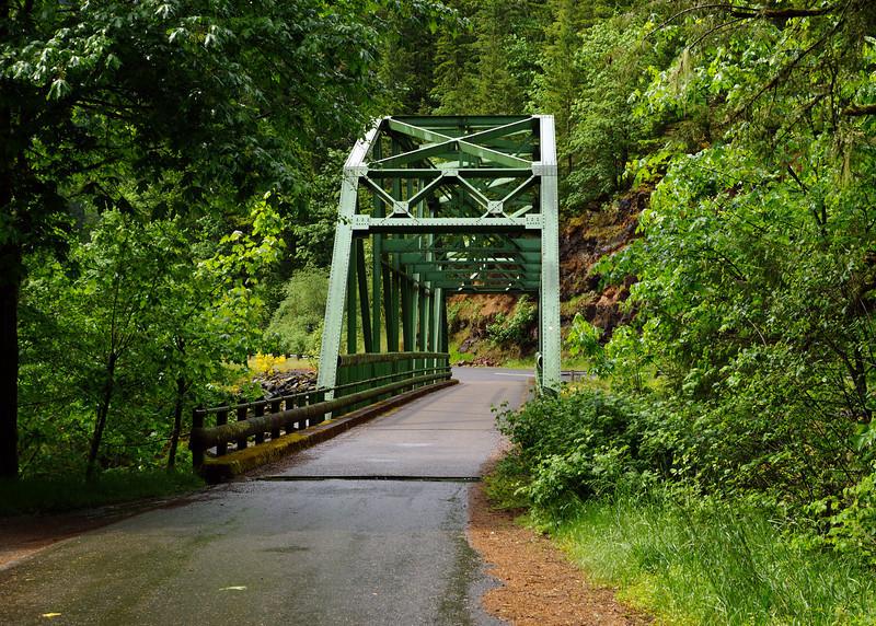 Bridge over Clackamas River off of Hwy 224