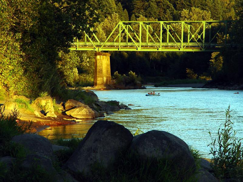 Sandy River, Troutdale, Oregon