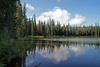 Deer Lake, off of Cascade Lakes Highway 58, Central Oregon Cascades.