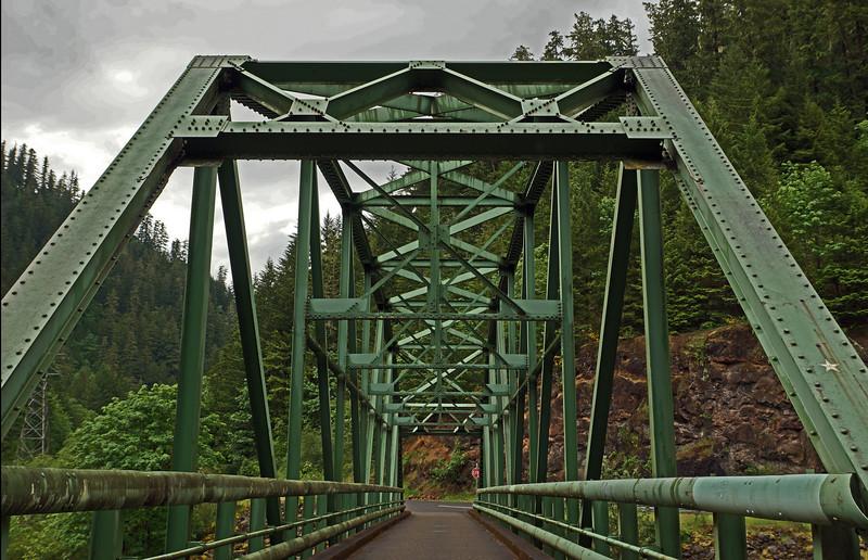 Bridge over Clackamas River