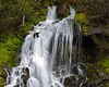 Roadside Waterfall on the way to Timberline Lodge Mt Hood