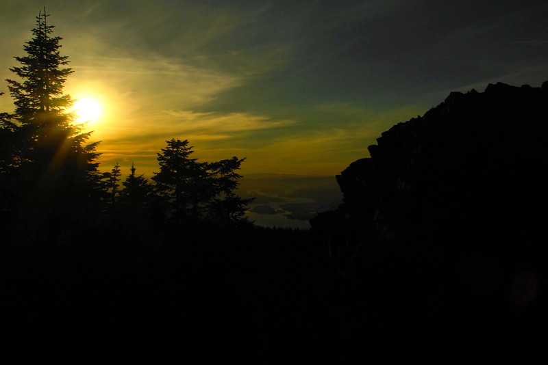 Sunset from Larch Mt