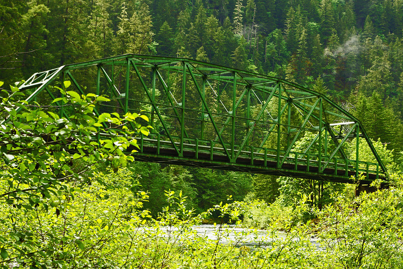 Bridge over Clackamas River