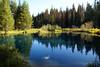 Little Crater Lake, North Oregon Cascades