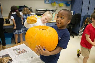 Primer Pumpkin Carving 2016