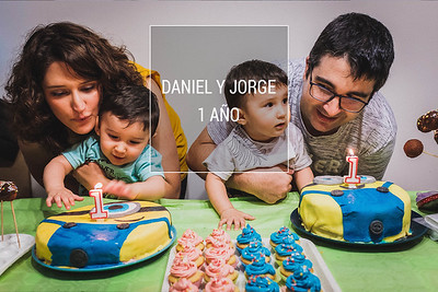 Daniel y Jorge - 1 año