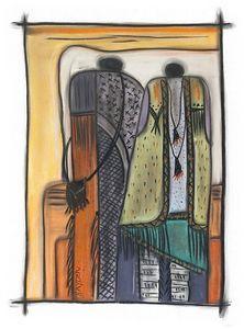 Indigo Tapestry