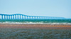Confederation Bridge from Prince Edward Island. 19 August, 2013.