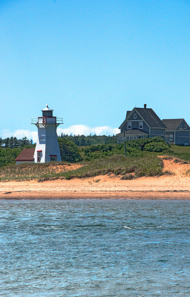 New London Light, PEI. 21 July, 2012.