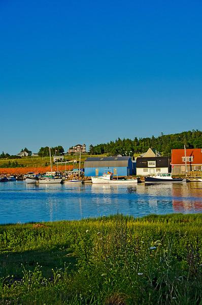 Stanley Bridge Harbour, PEI. 20 July, 2012.