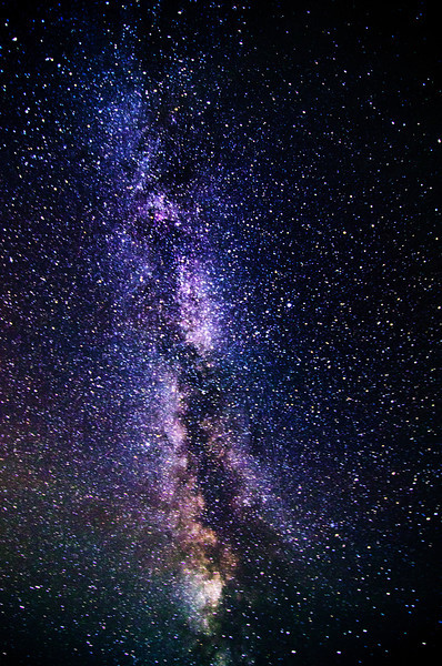 The Milky Way, from near New London, PEI. 19 July, 2012.