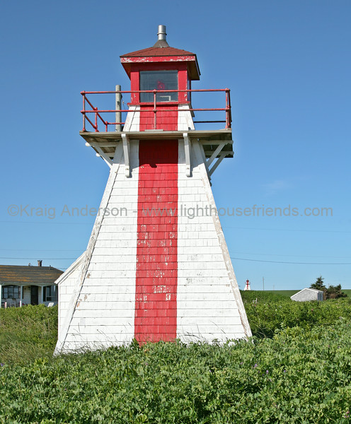 Malpeque Outer Range Front Lighthouse
