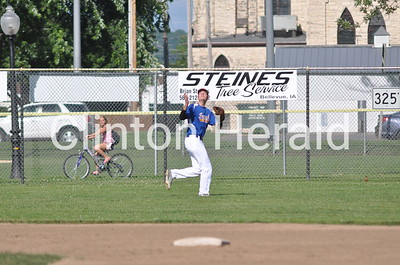 Prince of Peace vs. North Linn baseball (7-14-15)