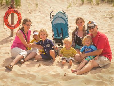 Kirby Family - On the Beach - Greenwich PEI