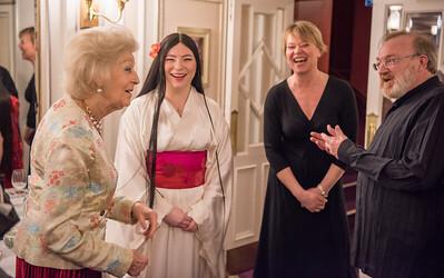Princess Alexandra, Natalia Romaniw, Nicole Richardson, Martyn Brabbins © Genevieve Girling