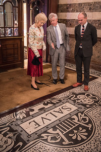 Princess Alexandra, Dr Harry Brünjes, Stuart Murphy © Genevieve Girling